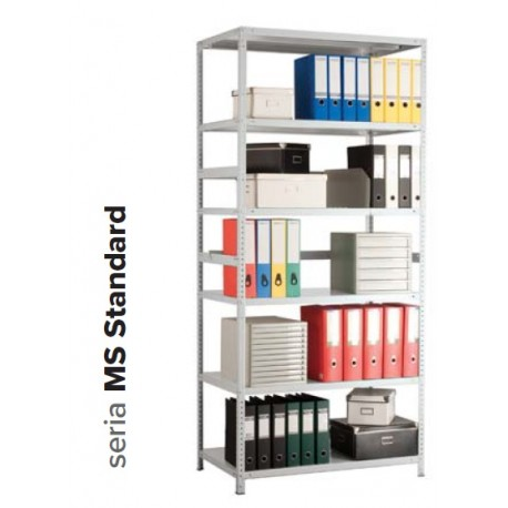 Regał metalowy MS Standard 160KD/70x30/3