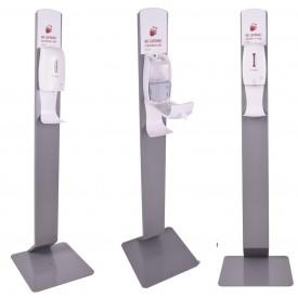 Kastell stacja do dezynfekcji rąk ze stojakiem - model DENVER