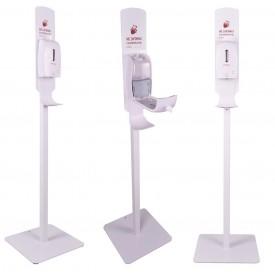 Kastell stacja do dezynfekcji rąk ze stojakiem - model BERLIN