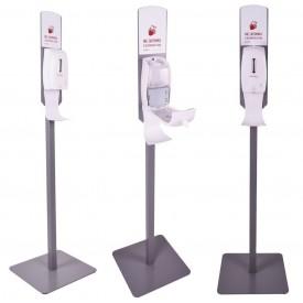Kastell stacja do dezynfekcji rąk ze stojakiem - model TOKYO