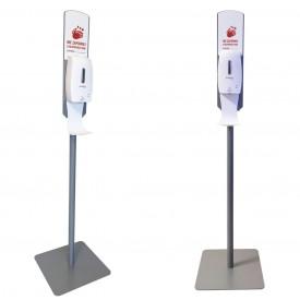 Kastell stacja do dezynfekcji rąk ze stojakiem - model STOCKHOLM