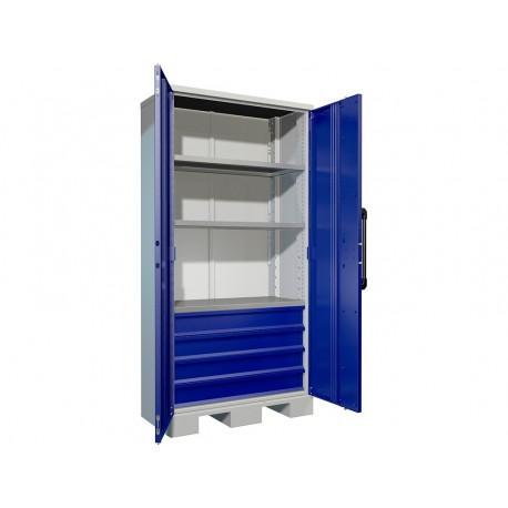 Ciężka szafa warsztatowa na narzędzia AMH TC 003040