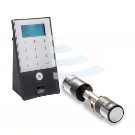 Elektroniczny zamek do drzwi SecuEntry Easy 5602 Burg - Wachter na kod i odcisk biometryczny