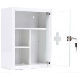Apteczka medyczna AMD 39G z drzwiami szklanymi