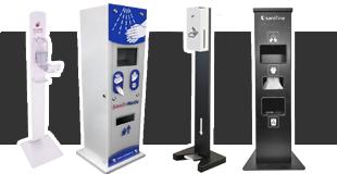 Dozowniki / automaty / stacje do dezynfekcji ciała i pomieszczeń